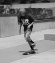 Skater Kid BW